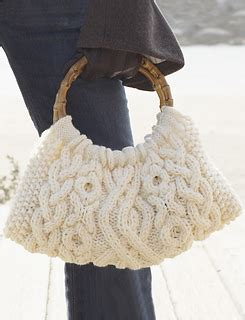 patons pattern library ravelry cabled bag sac 224 torsades pattern by patons