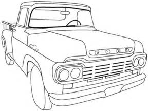 How To Pick Sheets ford pikup colouring pages