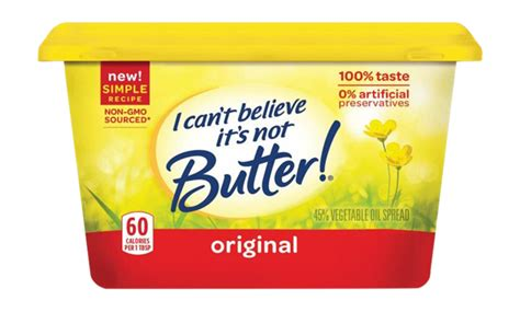i cant believe its not butter light nutrition facts i can t believe it s not butter original spread hy vee