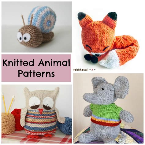 knitting animals bring on the cuddles 7 knitted animals to