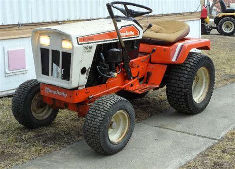Simplicity Garden Tractors by Michael S Tractors Simplicity And Allis Chalmers Garden