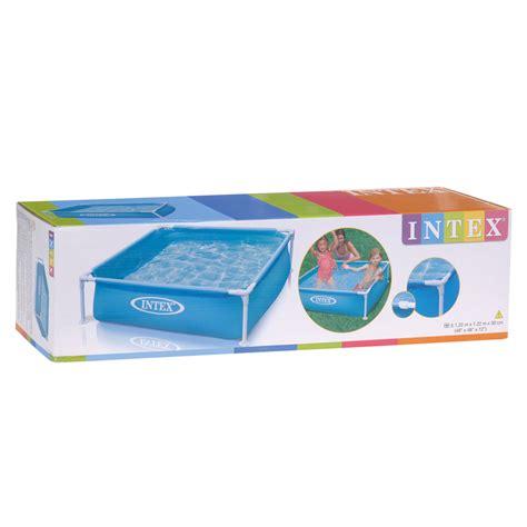 speelgoed zwembad intex zwembad met stalen frame online kopen lobbes nl