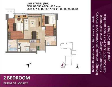jual apartemen gallery west residences kebon jeruk harga