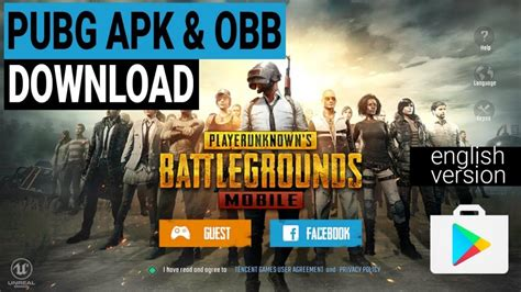 pubg apk pubg mobile version apk obb file