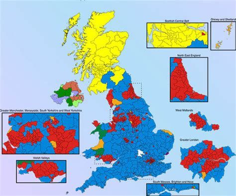 uk election election 2017 mapped swing seats where could labour and