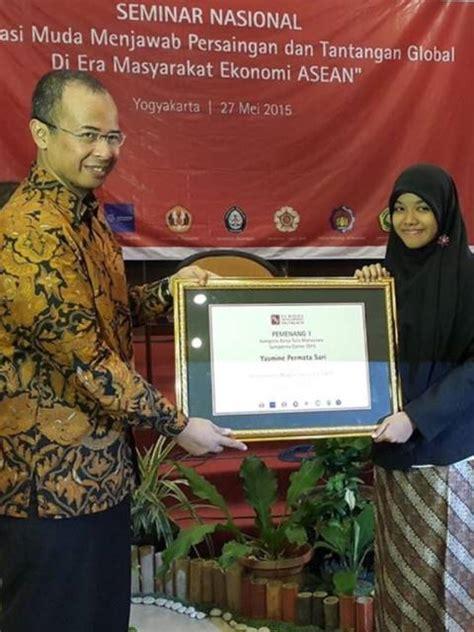 Persiapan Sektor Publik Pariwisata Indonesia Dalam Menghadapi mahasiswi undip juarai kompetisi karya ilmiah soerna