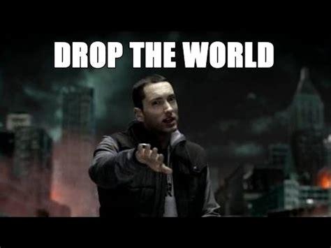 eminem drop the world lyrics drop the world eminem s verse with lyrics youtube