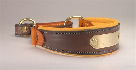 Handcrafted Leather Collars - custom leather martingale collars l leather martingale