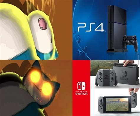 Nintendo Switch Memes - more like ps snore by zeroto meme center