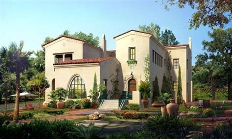 Spanish Villa Style Homes by Types Of Residences With Mexican Style Architecture Home