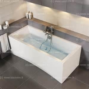 baignoire rectangulaire 160x75 intro sans tabliersanitaire