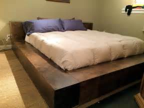 Platform Bed With Gun Storage Donnelly Atlanta Custom Platform Bed W Covert Gunsafe