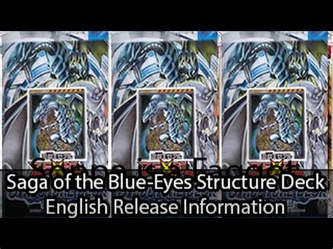 saga of blue white deck saga of the blue white structure deck