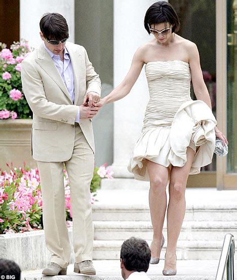 Tom Cruise Grows In Wedding Photo by A Brie Grows In