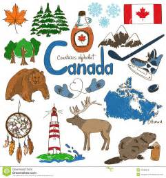 collection of canada icons stock vector image 42189849