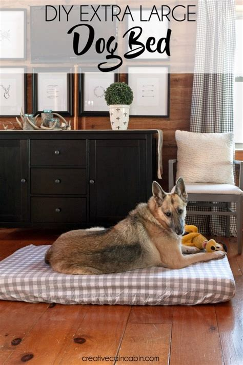 diy large dog bed diy extra large dog bed creative cain cabin dog beds and costumes