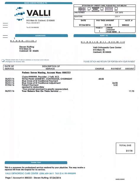 healthcare medical statement printing postal pros