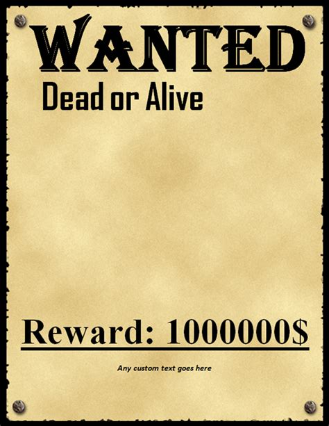 printable posters download 50 printable wanted poster templates free pdf psd designs