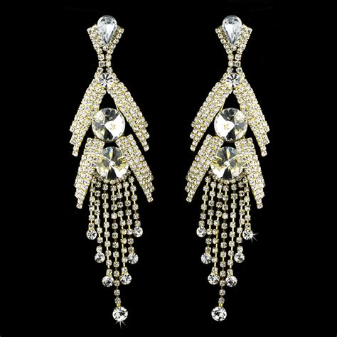 marquise bridal chandelier earrings bridal hair