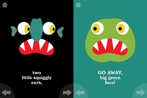 go away green go away big green monster arrives on ios wired