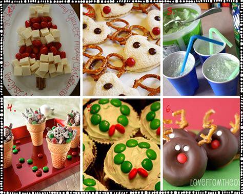 pre k christmas party snack ideas