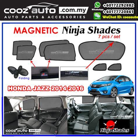 Sun Protector Shade Visor Canopy Unit Honda Jazz 2015 ford ranger honda brv crv city jazz toyota hilux vellfire alphard magnetic sun shade sunshade