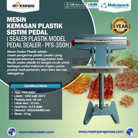 Mesin Sealer jual mesin sealer plastik pedal sealer murah berkualitas