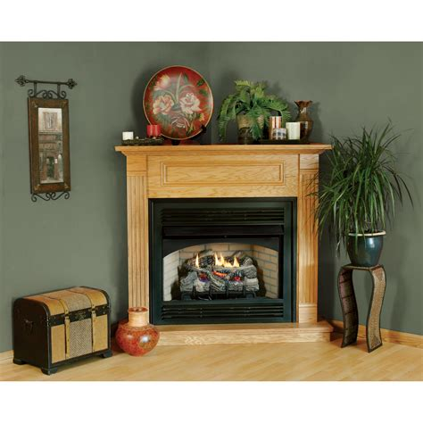 Corner Fireplace With Mantel by Product Comfort Cabinet Corner Mantel 32in