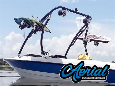 wake boat dimensions ascent 2 0 black ski tower aerial s most affordable