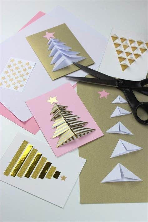 Basteln Mit Geschenkpapier by Weihnachtskarten Selber Machen 15 Diy Ideen Anleitung