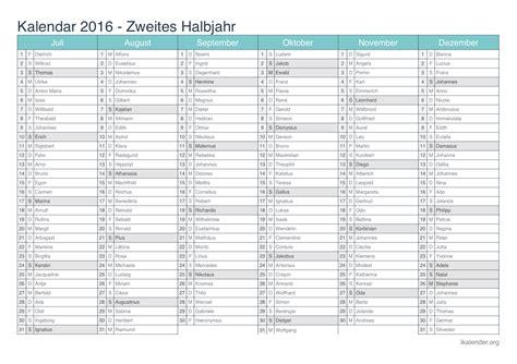 Blanko Kalender 2016 Monatskalender Blanko Calendar Template 2016
