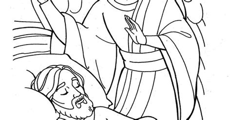coloring page of angel and joseph the angel visits joseph coloring page 2015 discipleland