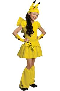 Pokemon Costumes Pokemon Pikachu Child Halloween Costume