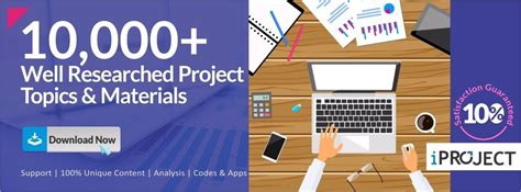 Mba Year Projects Free by Year Research Project Topics Free Projects