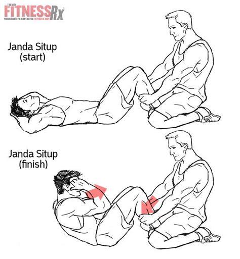 janda situps    safer ab workout fitnessrx  men