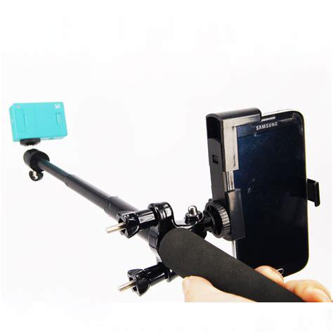 Bike Mount Tripod Adaptor Sepeda Xiaomi Yi An Kamera Termurah aliexpress buy xiaomi yi monopod tripod mini tripod mount adapter phone clip bike holder