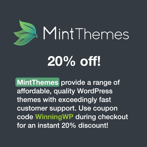 themes kingdom discount code wordpress blogging deals coupons and discounts winningwp