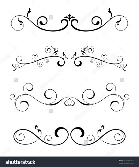 Wedding Border For Word by Home Design Floral Borders Design Elements Stock Vector