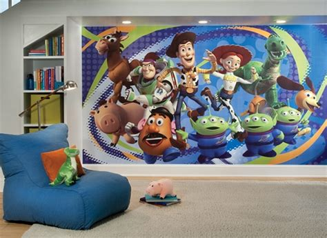 toy story bedroom decor disney characters colorful kids rooms