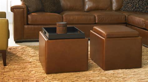 american leather uno ottoman contemporary ottomans