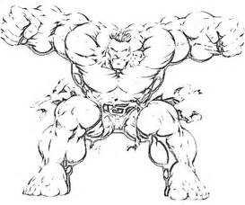 hulk mask colouring pages 3