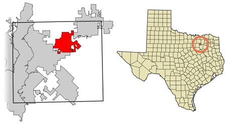 Rockwall County Search File Rockwall County Incorporated Areas Fate Highlighted Svg