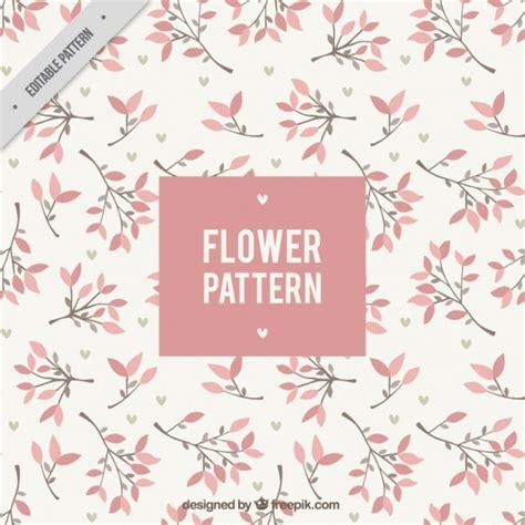 flower pattern freepik beautiful floral pattern in flat design vector free download