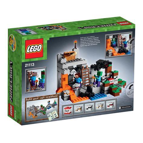 amazon lego amazon com lego minecraft the cave 21113 toys games