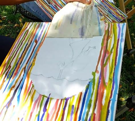 how to drip acrylic paint on canvas easymeworld an easy acrylic painting for beginners quot for