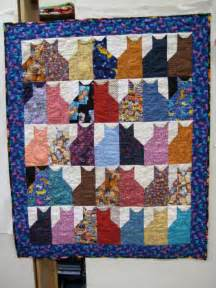 Simple Comforters 13 Quilted Cats Mousebreath A Magazine For Cats