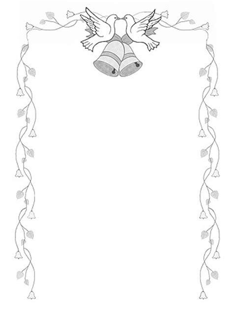 Wedding Bells Border by Blue Wedding Bells Border Bell Borders Hd Picture To Pin