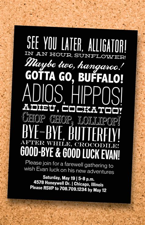 farewell themes names farewell party too cute party ideas pinterest