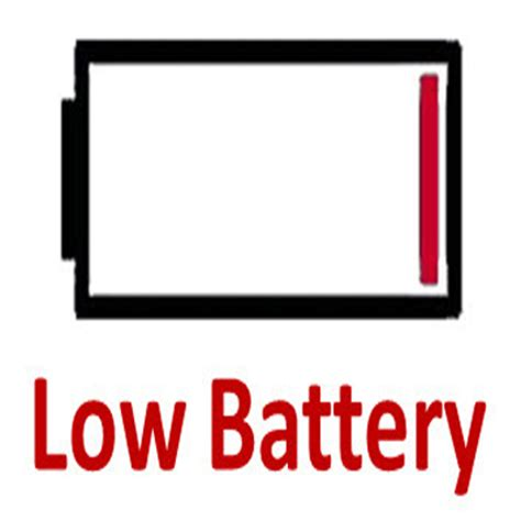 Low Batteries pin low battery on
