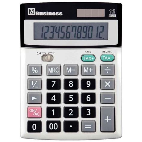 Calculatrice De Bureau 12 Chiffres M Business Vente De Calculatrice De Bureau